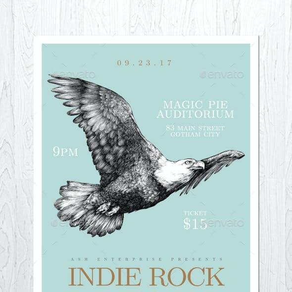 Indie Rock Vol. 5 Flyer