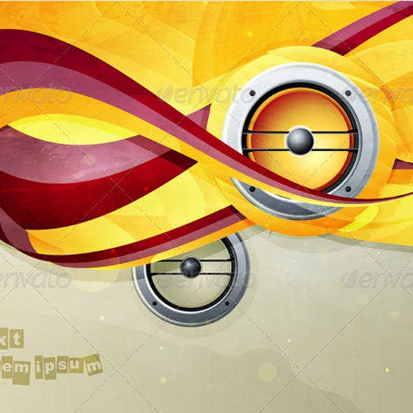 Abstract vector graphic