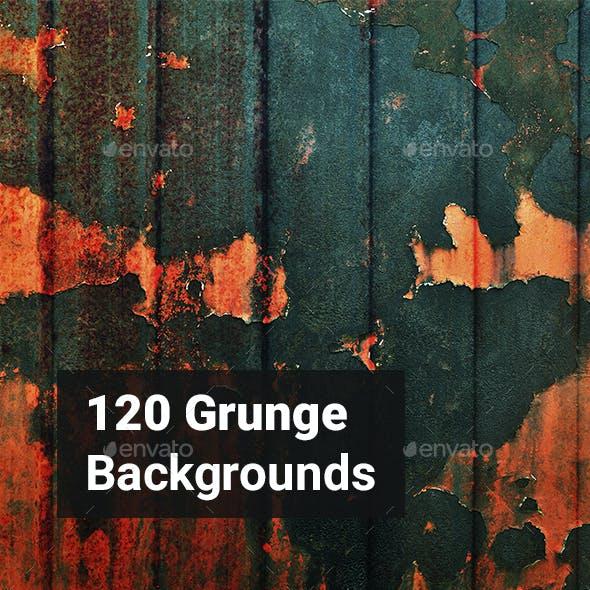 120 Grunge Backgrounds