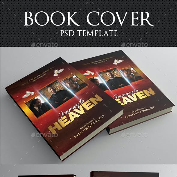 Journey To Heaven Book Cover Template