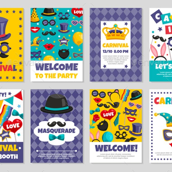 Carnival Party Banners