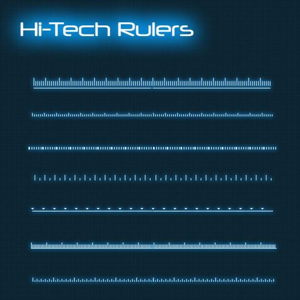 Hi-Tech HUD Rulers (Custom Shapes)