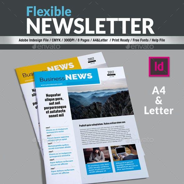Flexible - Newsletter Template