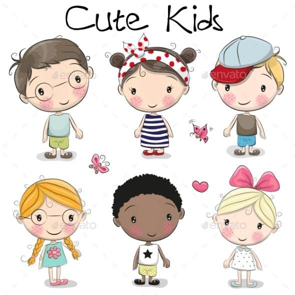 Cartoon Girls and Boys