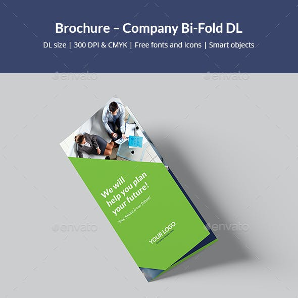 Brochure – Company Bi-Fold DL
