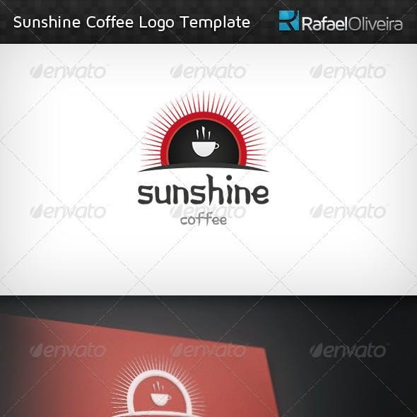Sunshine Coffee Logo Template
