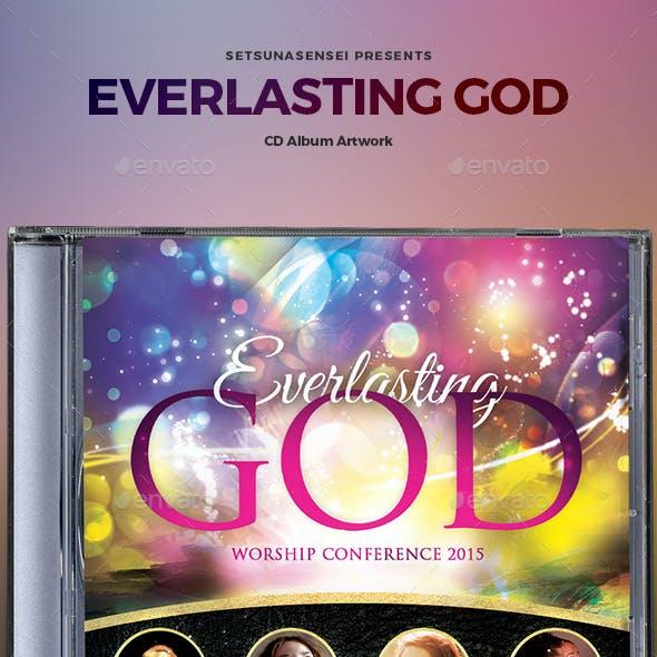 Everlasting God CD Album Artwork