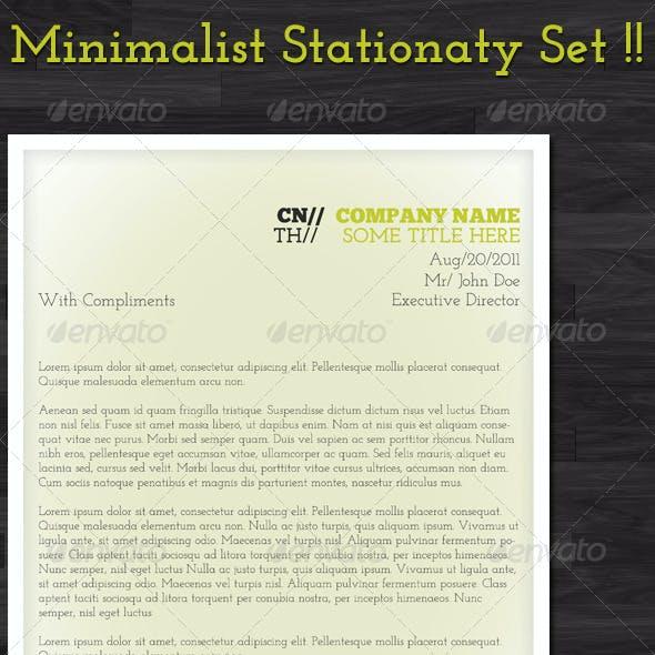 Minimalist Stationary Set