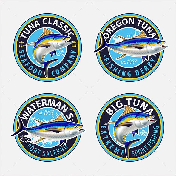 Yellowfin Tuna Symbols