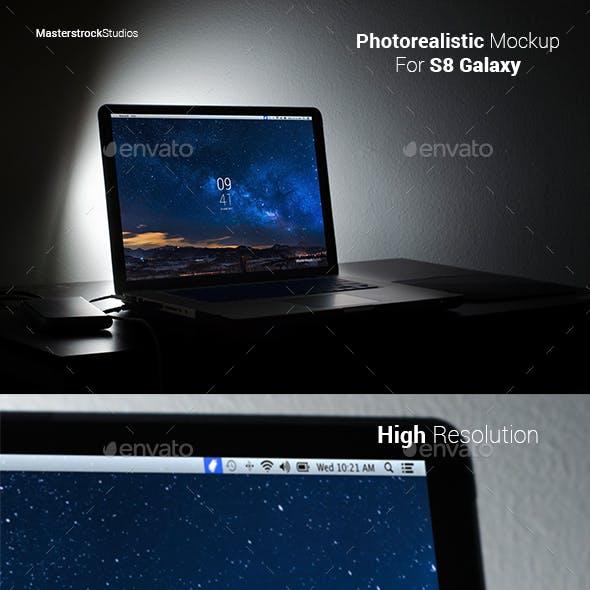 Macbook Photorealistic Mockup