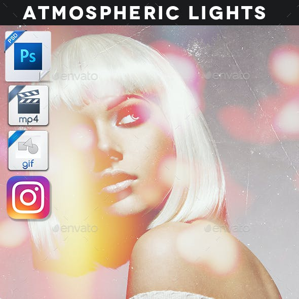 Animated Atmospheric Lights Template