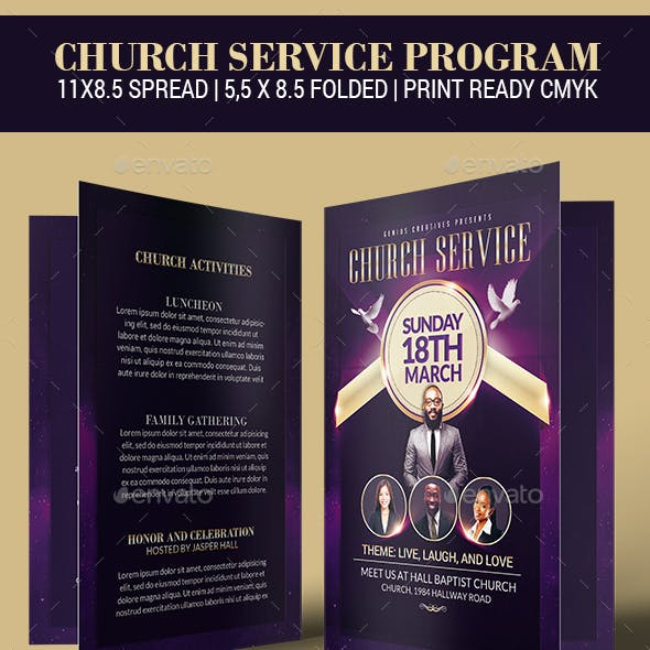 Church Service Program