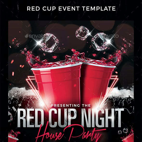 Red Cup Event Flyer