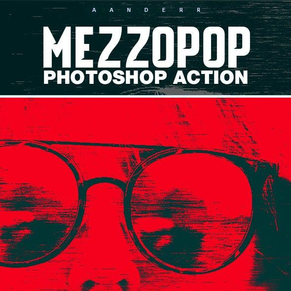 Mezzopop Photoshop Action