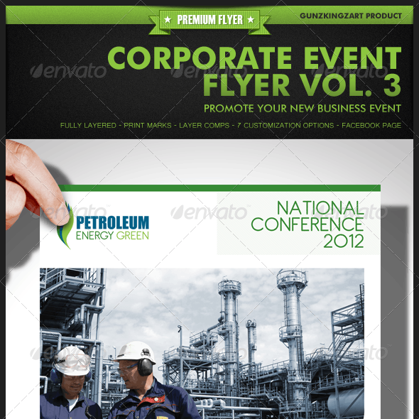 Corporate Event Flyer Vol. 3
