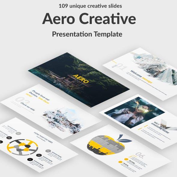 Aero Creative Google Slide Template