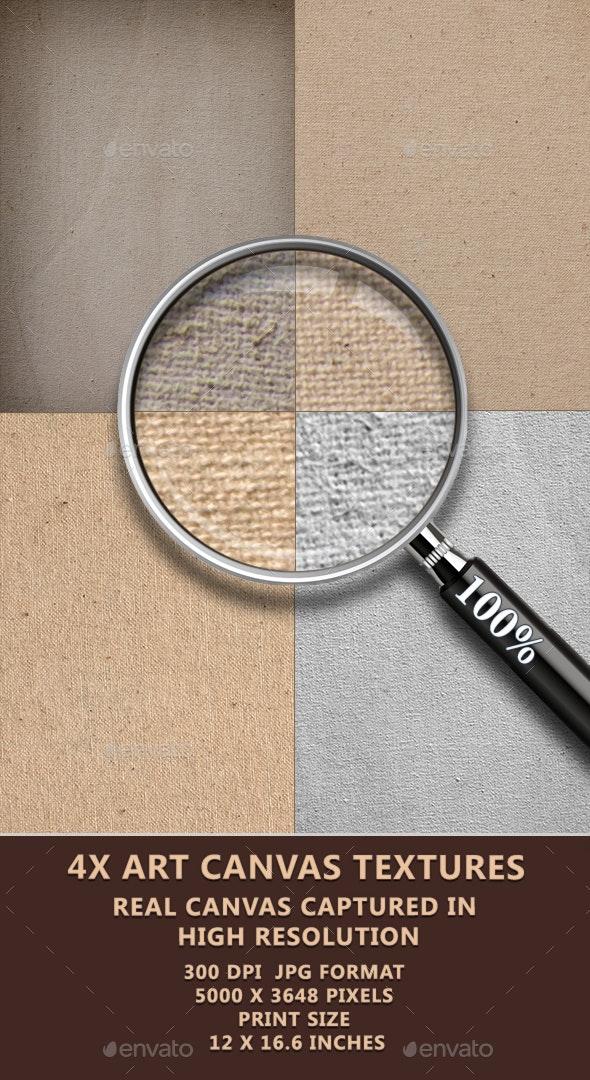 Art Canvas Texture Pack - Fabric Textures