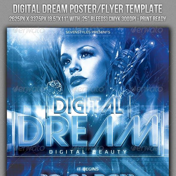 Digital Dream Poster/Flyer Template