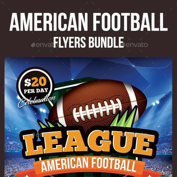 American Football Flyers Bundle
