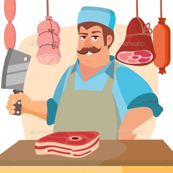 Butcher Character Vector