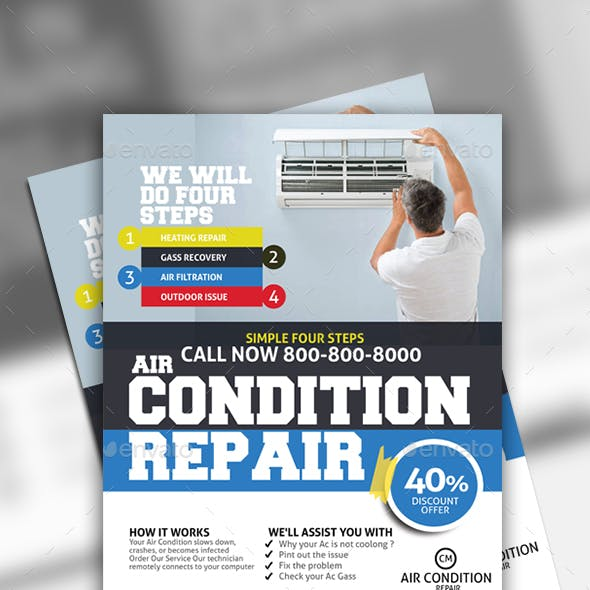 Air Conditioner Flyer