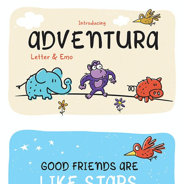 Letter Comic Fonts from GraphicRiver