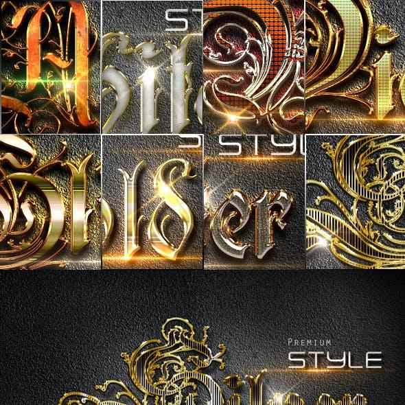 10 3D Text Styles D_26