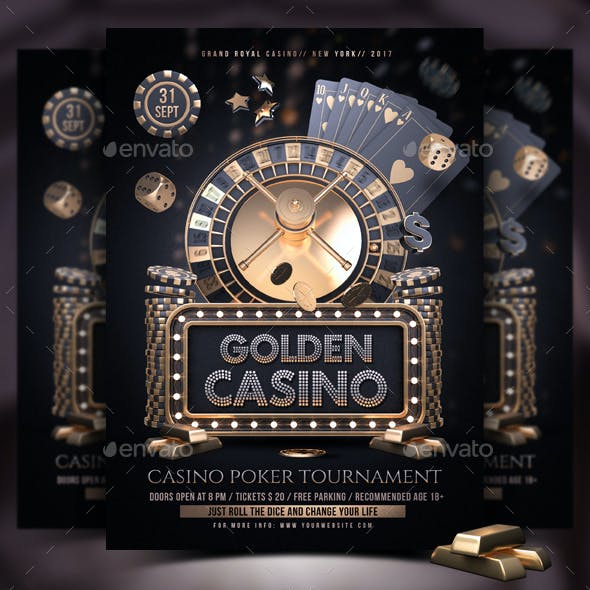 Casino Golden Night Template