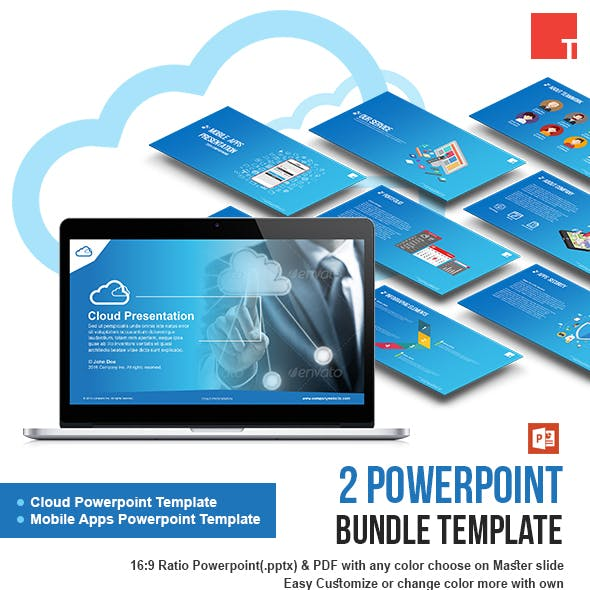 2 Powerpoint Bundle Template