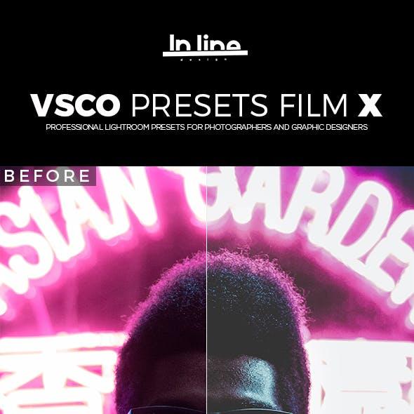 20 VSCO FILM X Lightroom Presets