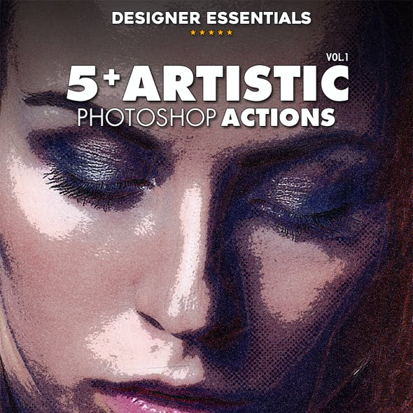 5 Artistic Effect Actions