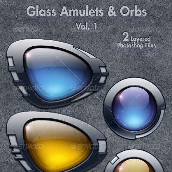 Glass Amulets & Orbs Vol. 1