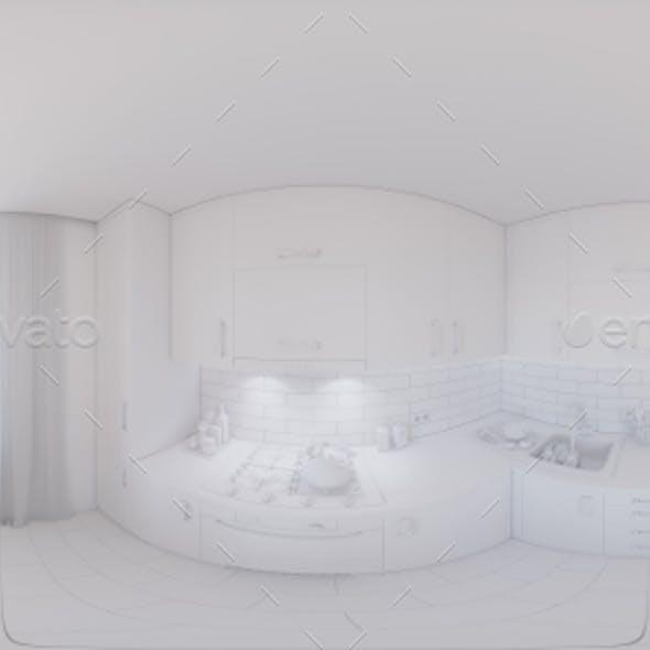 360 Panorama of Kitchen Design