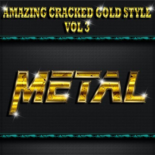 Amazing Cracked Gold Style V3
