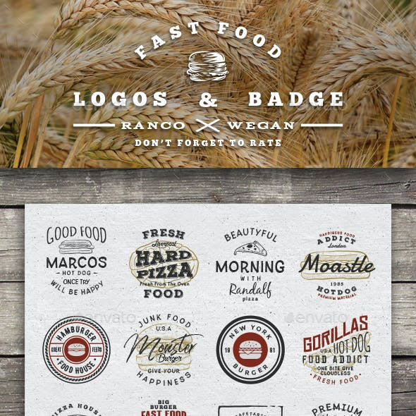 Fast Food Logo & Badge