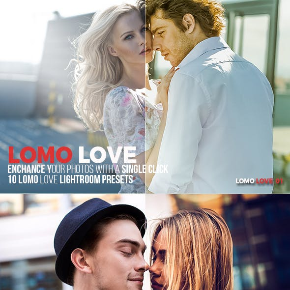 10 Lomo Love Lightroom Presets