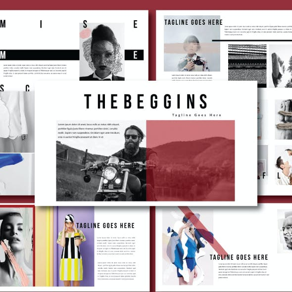 Hipster Multipurpose Powerpoint Template