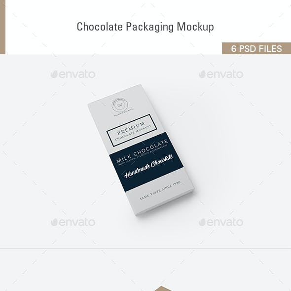 Chocolate Packaging Mockups