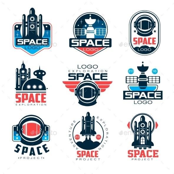 Exploration Space Logo Set