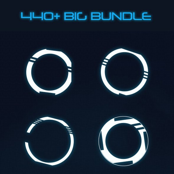 Hi-tech Big Bundle (370+ Elements)