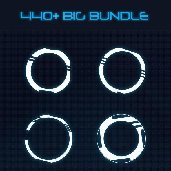 Hi-tech Big Bundle (370+ Elements)