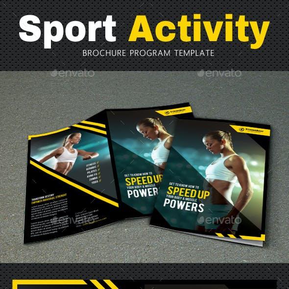 Sport Activity Brochure 2