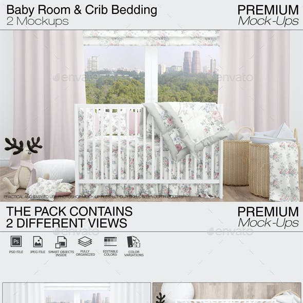 Baby Room & Crib Bedding Set