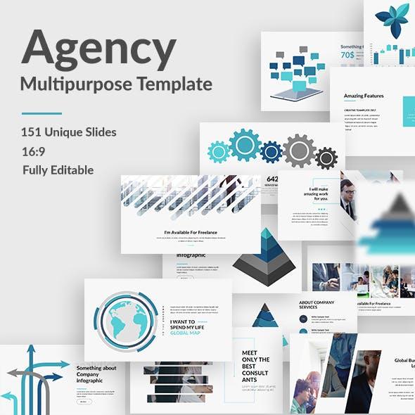 Agency Plus Multipurpose Keynote Template