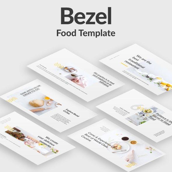 Bezel Food Keynote Template