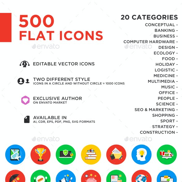 500 Vector Icons