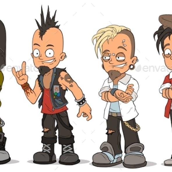 9100 Koleksi Gambar Keren Kartun Punk Gratis Terbaik