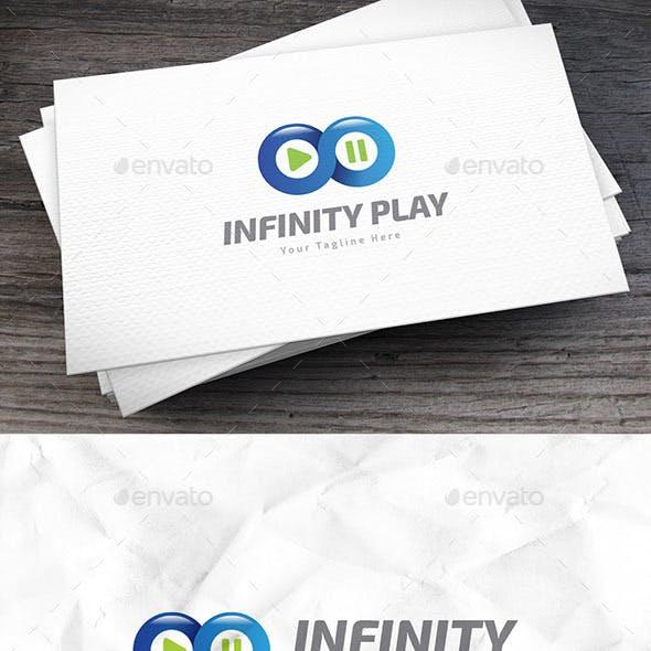 Infinity Play Logo Template
