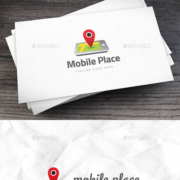 Mobile Place Logo Template