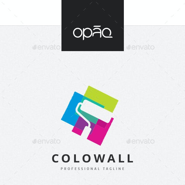 Paint And Wall Logo Templates From Graphicriver